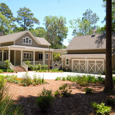 Traditional Exterior by Cole Design Studio, LLC