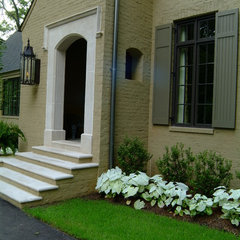 mediterranean exterior by Keith Allen-Custom Builder