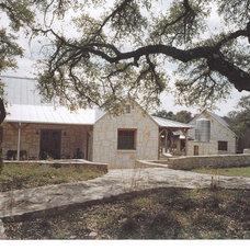 Eclectic Exterior by Allen-Guerra Architecture