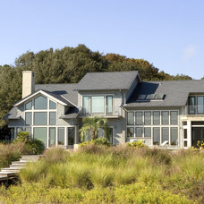 Eclectic Exterior by Frederick + Frederick Architects