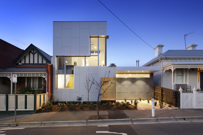 Modern Exterior by Vibe Design Group