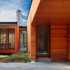 Modern Exterior by Michael Biondo Photography