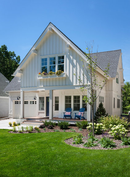 Traditional Exterior by Peterssen/Keller Architecture