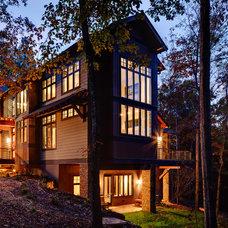 Contemporary Exterior by Johnston Design Group