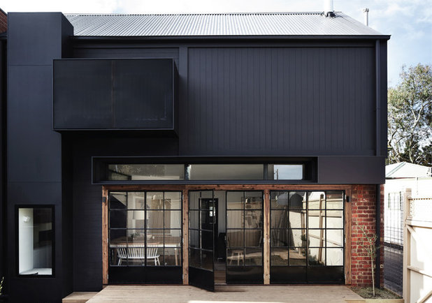 Contemporary Exterior by Whiting Architects
