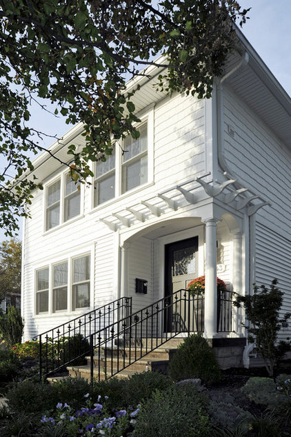 Traditional Exterior by Ketron Custom Builders