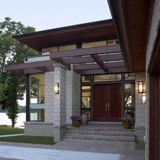 Contemporary Entry by kevin akey - azd architects - michigan