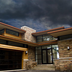 contemporary exterior by kevin akey - azd associates