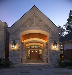 traditional exterior by kevin akey - azd associates