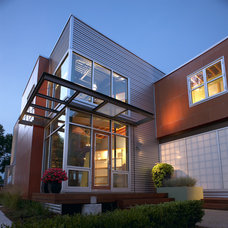 Modern Exterior by kevin akey - azd architects - michigan