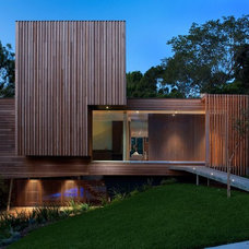 Contemporary Exterior by Vibe Design Group
