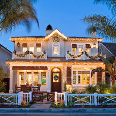 Traditional Exterior by Cynthia Childs, Architect
