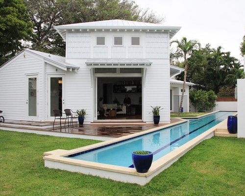 Small Pool Cabana Design Ideas & Remodel Pictures | Houzz