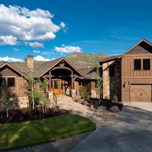 Mountain style exterior home photo in Other