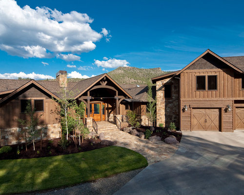The old keystone ranch refined yet rustic western ranch home for Western style houses