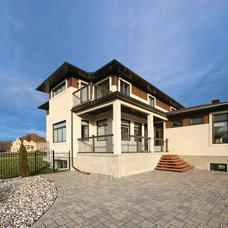 Contemporary Exterior by OakWood Renovation Experts