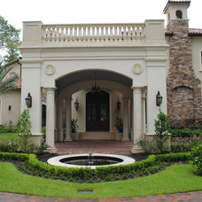 Mediterranean Exterior by King Residential, Inc.