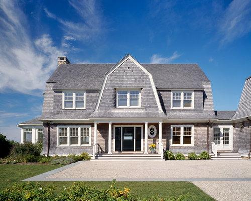Gambrel Cabin Home Design Ideas Pictures Remodel And Decor