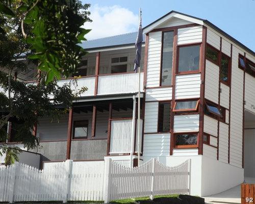 Traditional Brisbane Exterior Design Ideas Renovations
