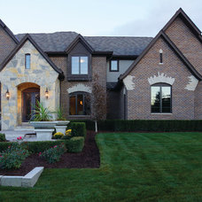 Traditional Exterior by Moceri Homes