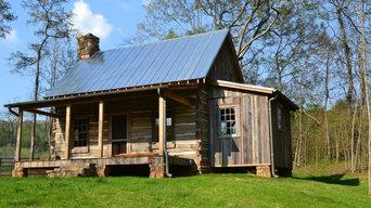 Kingston GA Log Cabin - Unique Geothermal Project