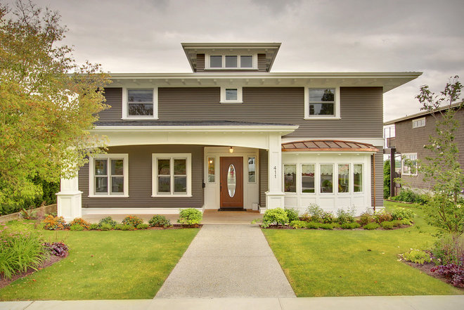 Craftsman Exterior by RW Anderson Homes