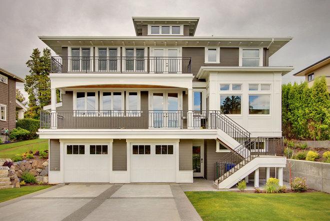 Craftsman Exterior by RW Anderson Homes