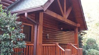 Kirkwood- Log Home Sealing and Staining