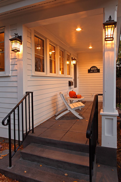 Traditional Exterior by Home Tailors Building & Remodeling