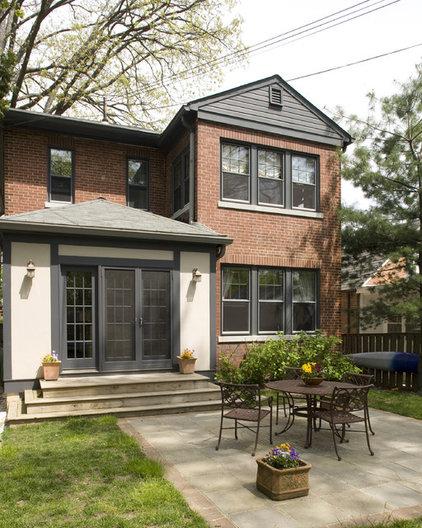 Traditional Exterior by David Vogt - Case Design/Remodeling Inc.