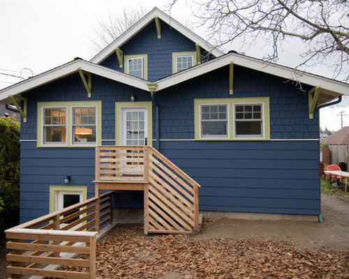Blue Exterior Paint | Houzz