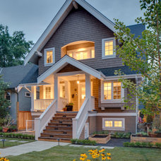 Craftsman Exterior by Clay Construction Inc.