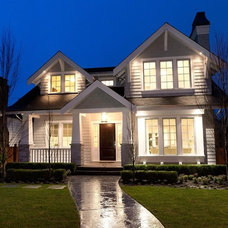 Craftsman Exterior by Rockridge Fine Homes