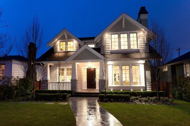 Craftsman Exterior by Rockridge Fine Homes