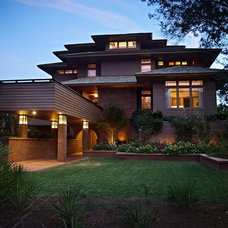 Asian Exterior by Spivey Architects, Inc.