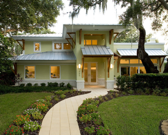 yellow exterior home design ideas, remodels & photos