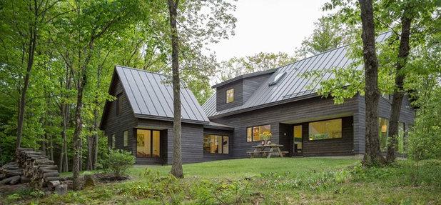 Contemporary Exterior by Elizabeth Herrmann architecture + design