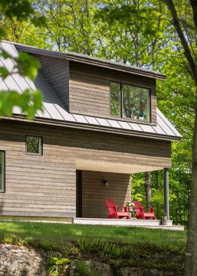 visite priv e une maison de campagne contemporaine dans le vermont. Black Bedroom Furniture Sets. Home Design Ideas