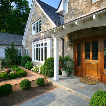 Knoxville Stone Cottage Custom Home