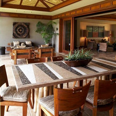 Tropical Exterior by Knudson Interiors