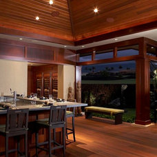 Asian Exterior by Knudson Interiors