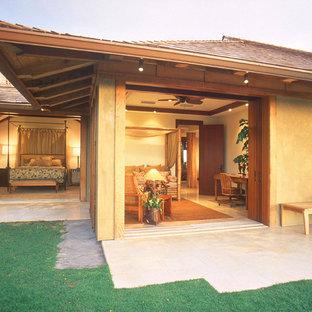 Immagine della facciata di una casa tropicale