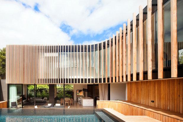 コンテンポラリー エクステリア (外観・外構) by Matt Gibson Architecture + Design
