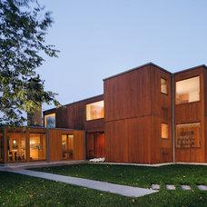 Modern Exterior Korman House, Louis Kahn