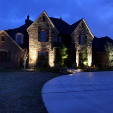 Traditional Exterior by Sun Custom Homes
