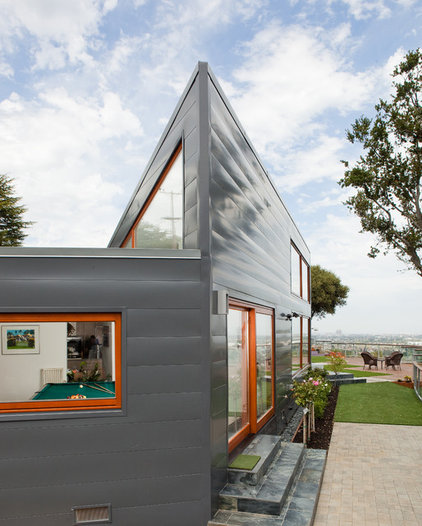 Contemporary Exterior by Zeitgeist Design LLC