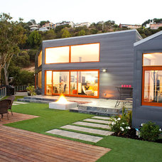 Contemporary Exterior by Zeitgeist Design LLC