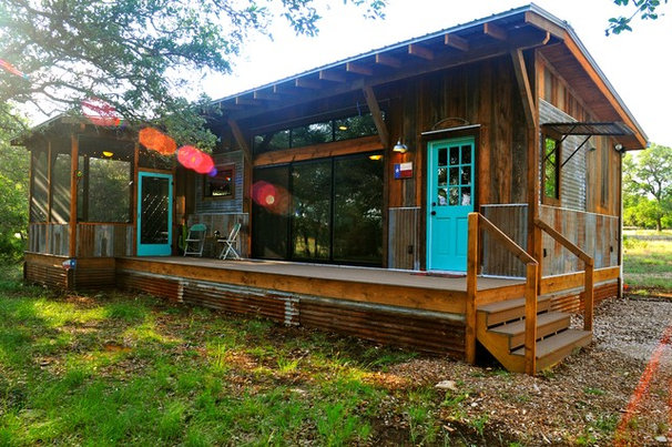 Rustic Exterior by Reclaimed Space