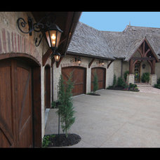 Traditional Exterior by Euro World Design