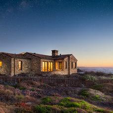 Mediterranean Exterior by Carmel Realty Company